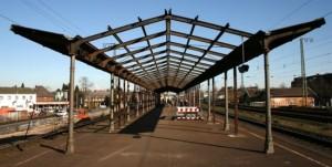 Uerdinger Bahnhof Demontage