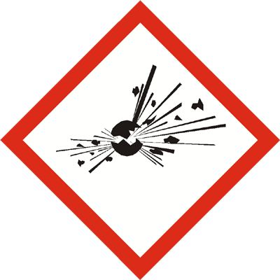 Gefahrensymbol Explosivstoffe