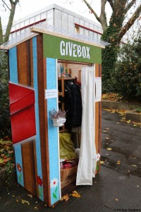 Givebox Frontansicht