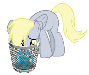 Derpy sad about WIN10