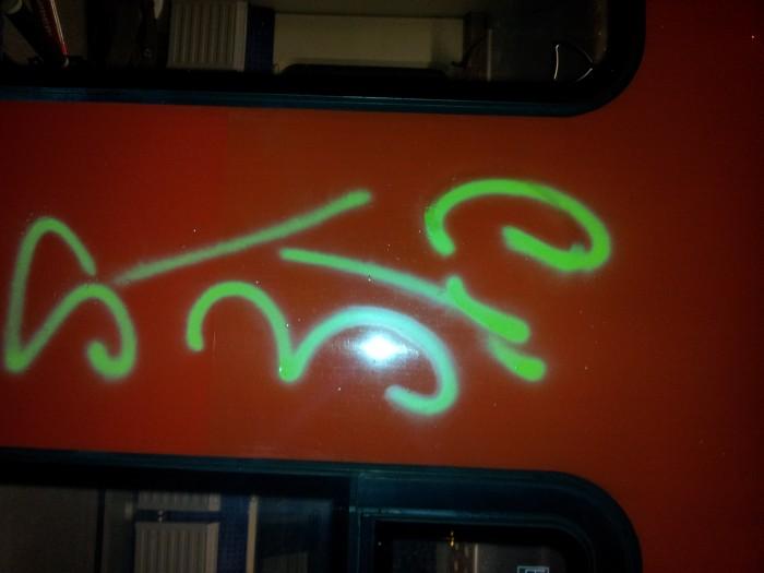 Graffiti RB33 in Uerdingen