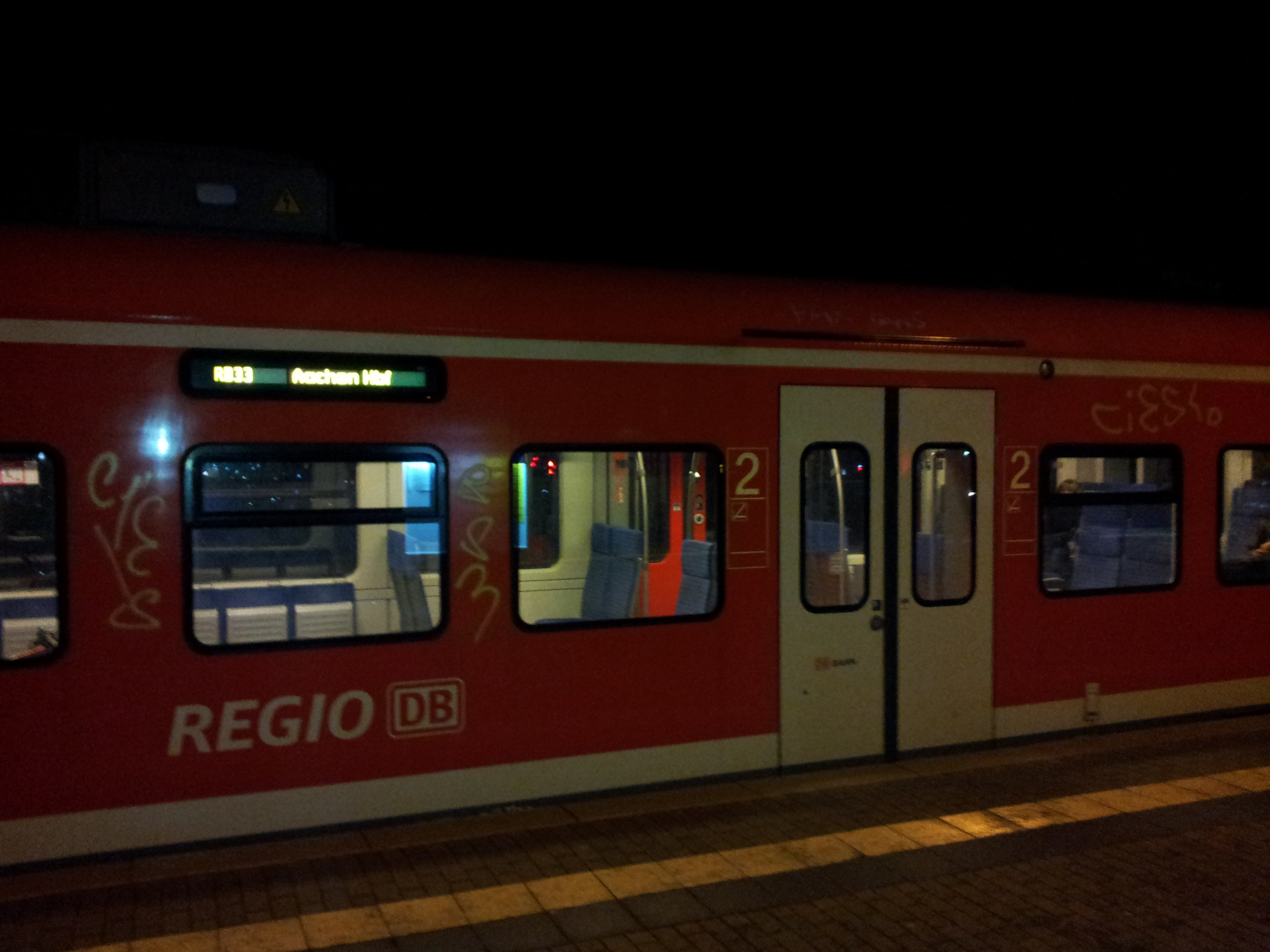 RB33 in Uerdingen