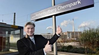 Hohenbudberg Chempark Bahnhof