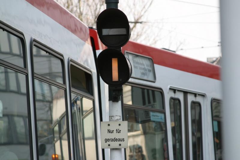 Signal Straßenbahn