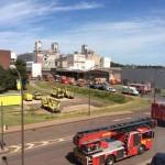 Feuerwehreinsatz im Chempark 2015