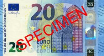 Neue 20 Euro Note