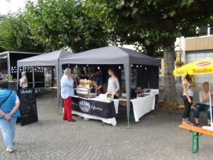 Das Beans & Sweets war mit einem Stand vertreten und wer mehr wollte, konnte im Lokal auf der Niederstraße fündig werden.