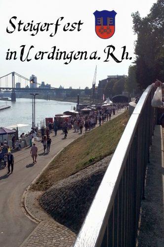 Steigerfest am Rhein in Uerdingen