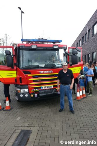 Scania Feuerwehr Leicester