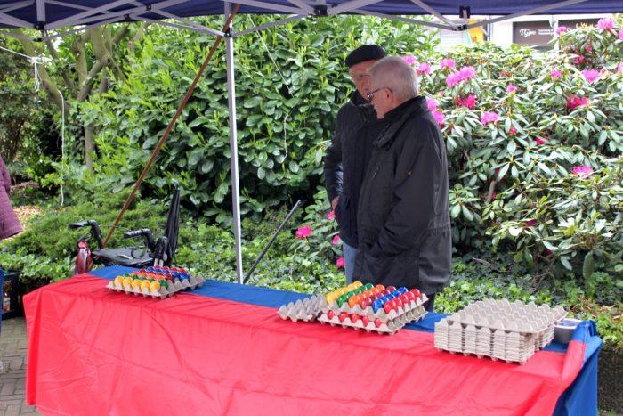 Verkauf der Eier