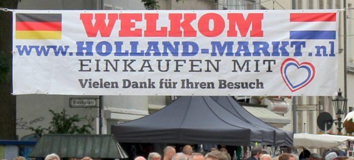 Hollandmarkt Banner