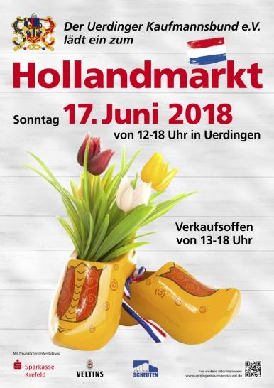 Hollandmarkt Plakat