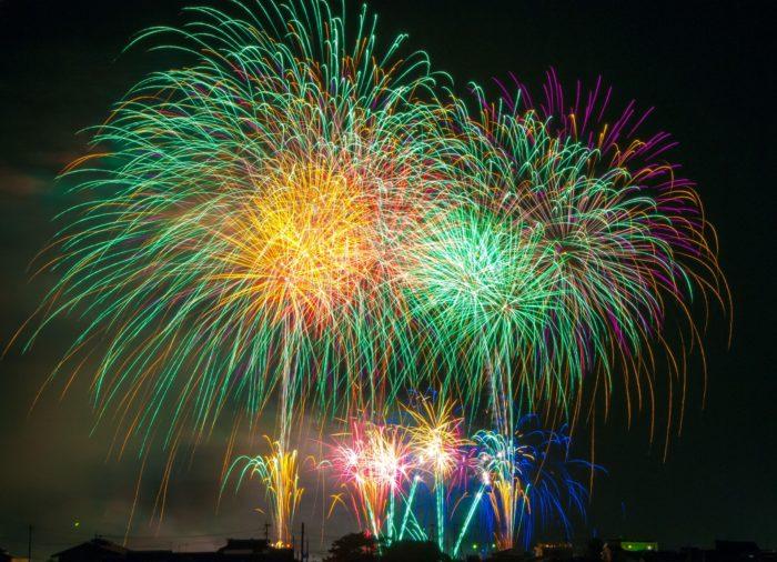 Feuerwerk Japan Festival